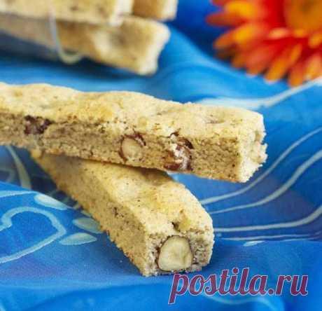 Песочное печенье с фундуком и корицей - рецепт приготовления с фото от Maggi.ru