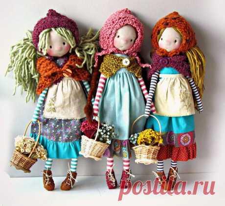 Куклы от Anacardia_dolls