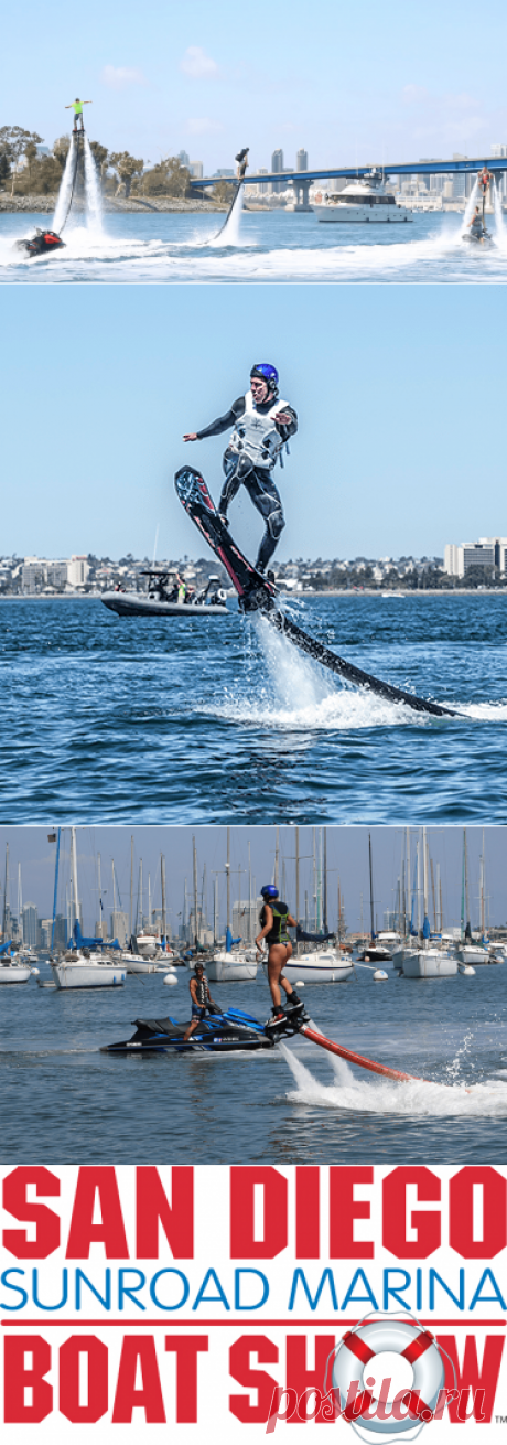 Water Flyboard and Jetpack Rentals in San Diego - boat