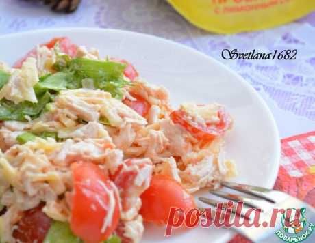 Салат с курицей и помидорами черри – кулинарный рецепт
