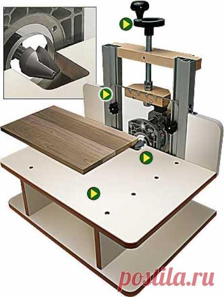 Стол для ручного фрезера 8