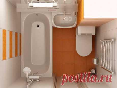 Зачем туалет совмещают с ванной?