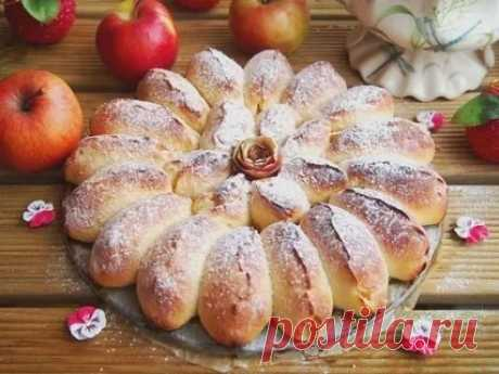 Detachable apple pie