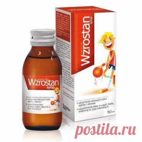 Wzrostan Syrup 150ml Children from 3 years vitamins and minerals