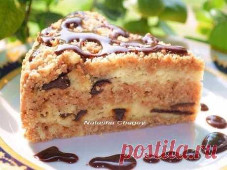 Простой в приготовлении, но шикарный на вкус - пирог с творогом и черносливом Мой фаворит!