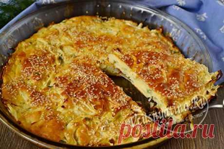 Минутный пирог с капустой - тает во рту: рецепт с фото