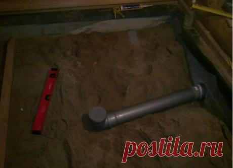 Гидроизоляция пола в бане своими руками, основание и бетонная стяжка