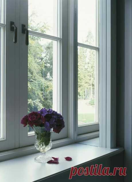 Как украсить откос окна (подборка) Модная одежда и дизайн интерьера своими руками