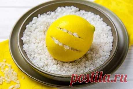 Полезный ферментированный лимон