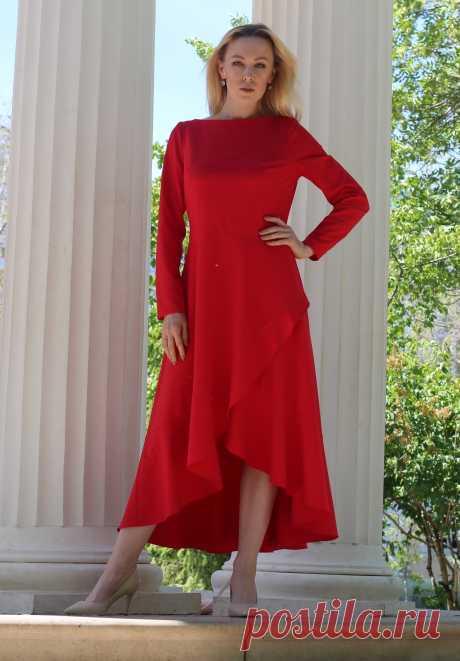 Выкройка платья с конической юбкой: купить и скачать