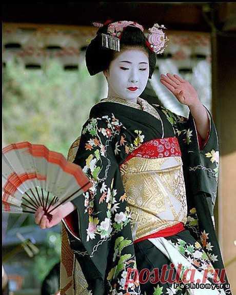Гейши, как последний оплот древней культуры Японии