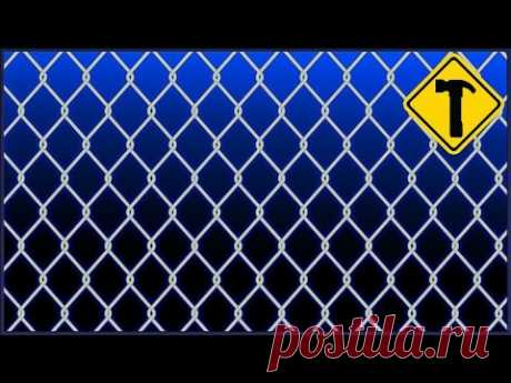Make. How to make the chain-link in house conditions.