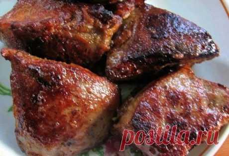 El hígado suave y perfumado por una nueva receta