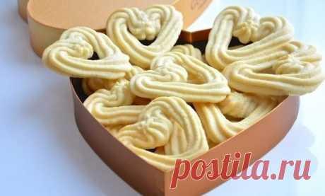 Печенье «Валентинки» — Готовим классно