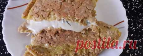 Овсяный блин с домашним сыром - Диетический рецепт ПП с фото и видео - Калорийность БЖУ