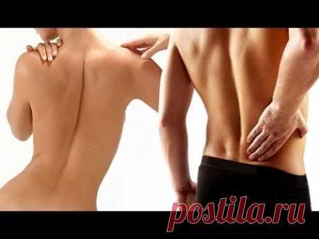 Острая боль в спине - шее