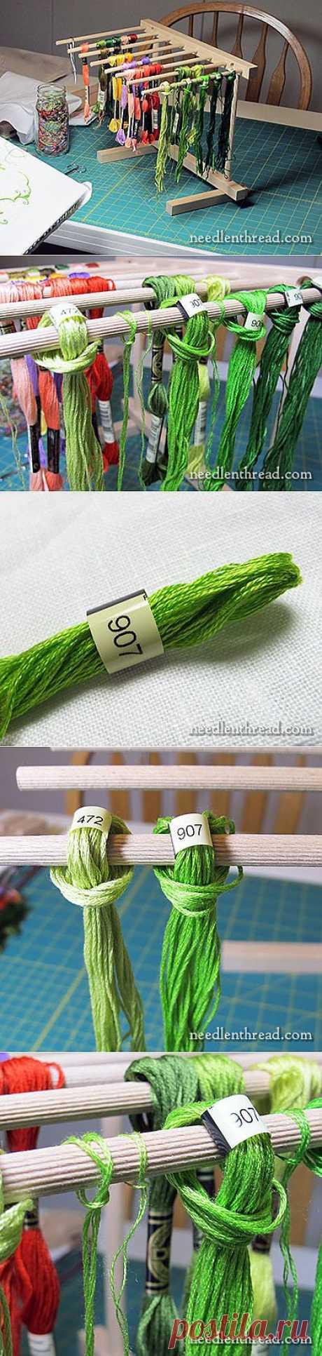 Для удобства и наглядности при вышивании