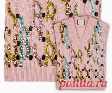 Блестящее решение: идея переделки свитера Модная одежда и дизайн интерьера своими руками