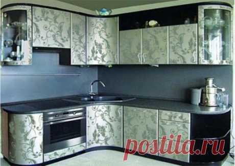3 доступных, простых, и дешевых способа преобразить старую мебель на кухне!!!.