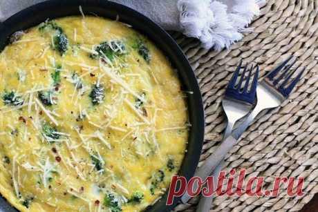 Омлет с брокколи — Sloosh – кулинарные рецепты