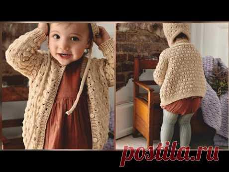 Разбираем узор для детского комплекта из журнала Maries 🌺 knitting pattern.
