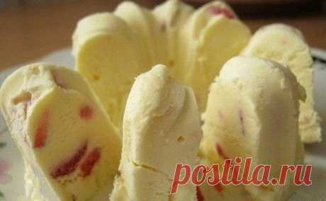 ТВОРОЖНОЕ МОРОЖЕНОЕ ЗА 7 МИНУТ | Самые вкусные кулинарные рецепты