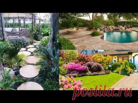 Ландшафт и декор для садового участка