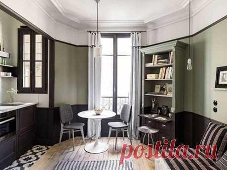 Зеленый цвет в интерьере кухни, гостиной, психология цвета
