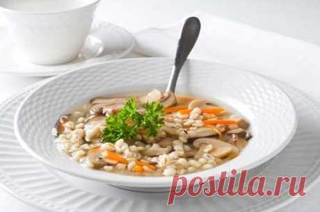 Питание во время Великого Поста: постные первые блюда / Простые рецепты