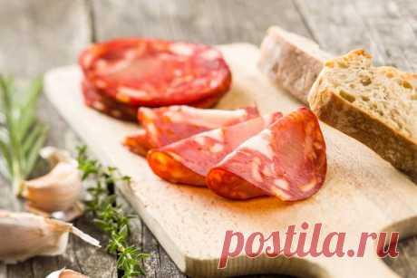 Чоризо: готовим дома Испанская колбаса