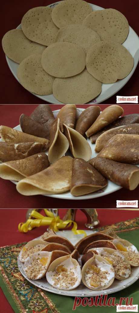 Катаеф - арабские блинчики / Блины / Кукорама — вкусные рецепты!