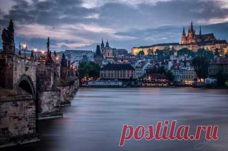 Вечерняя Прага, Чехия