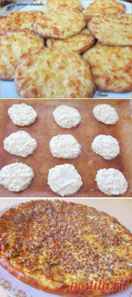 Сырные лепешки по Дюкану