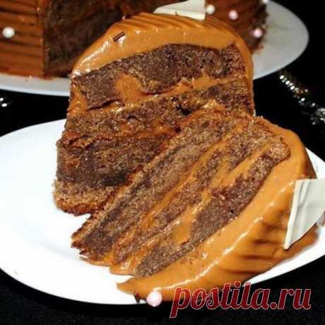 """(102) Кулинария Вкусные рецепты - Торт """"Шоколадное кухэ"""""""