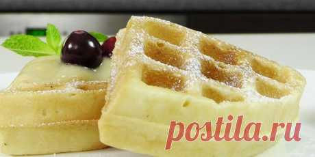 Венские вафли - как приготовить по пошаговым рецептам тесто и начинку для десерта с фото