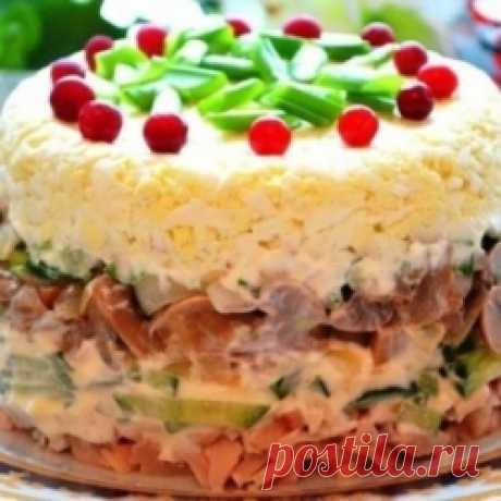 Этот салат на застольях уходит первым! По-царски вкусный. Пишите рецепт...