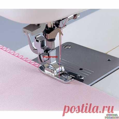 Виды швейных лапок и их использование (c видео обзором).