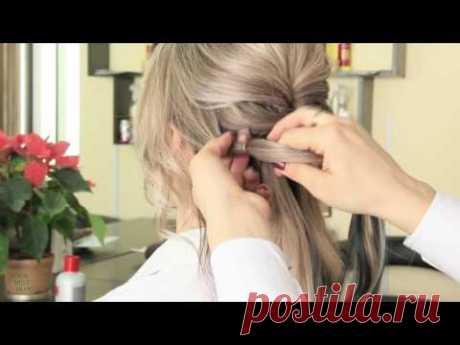 Прическа на ВЫПУСКНОЙ | Легкая причёска с помощью резинок | Hairstyle Tutorial | YourBestBlog
