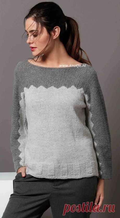Пуловер (Дизайн Katia)