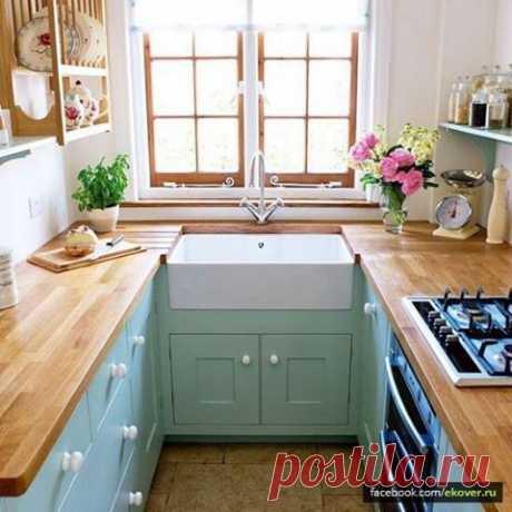 (1) Эковер - Хроника - Дизайн маленькой кухни