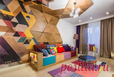 17 свежих тенденций оформления стен для тех, кто планирует косметический ремонт | Мой дом