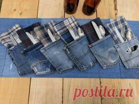 Нескучная жизнь денима: идеи использования старой джинсовой одежды
