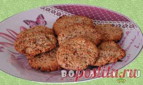 Миндально-ореховое печенье без использования муки |
