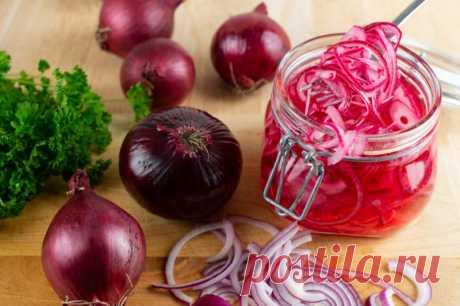 Маринованный лук: пошаговые рецепты
