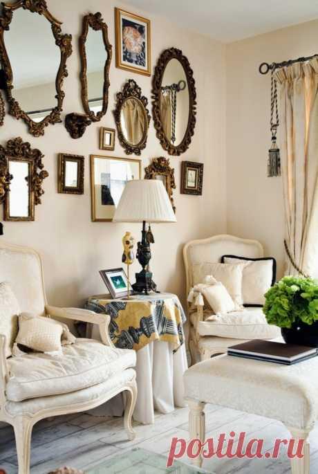 Большая подборка примеров для оформления небольшой гостиной | Роскошь и уют