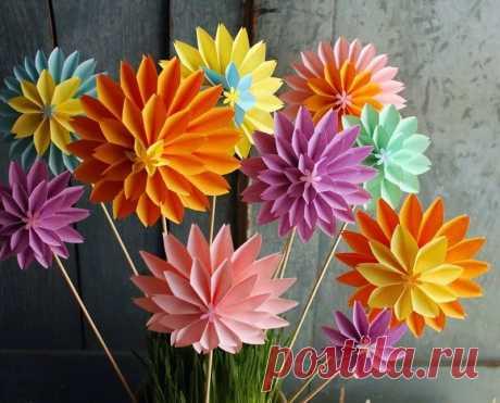 цветы из бумаги: 10 тыс изображений найдено в Яндекс.Картинках