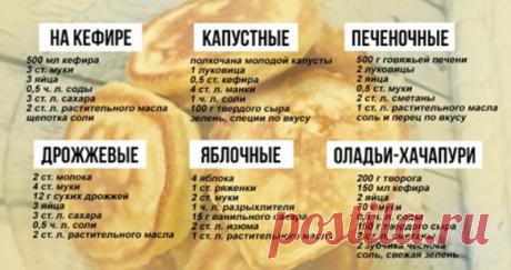 Десять рецептов оладий и правила их приготовления! Как приготовить в домашних условиях оладьи разными способами. Десять рецептов оладий и правила их приготовления.