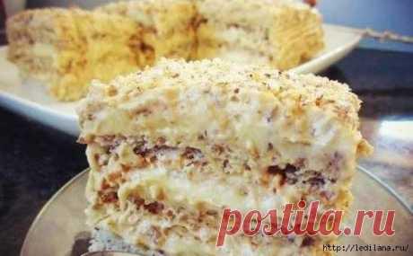 Вкуснейший египетский торт - Простые рецепты Овкусе.ру