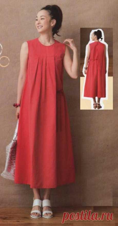 Простые выкройки   простые вещи Платье