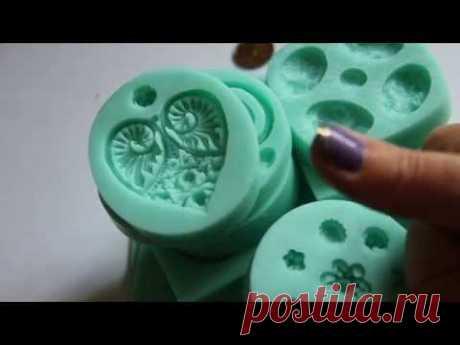Покупки для творчества: силиконовые молды - YouTube